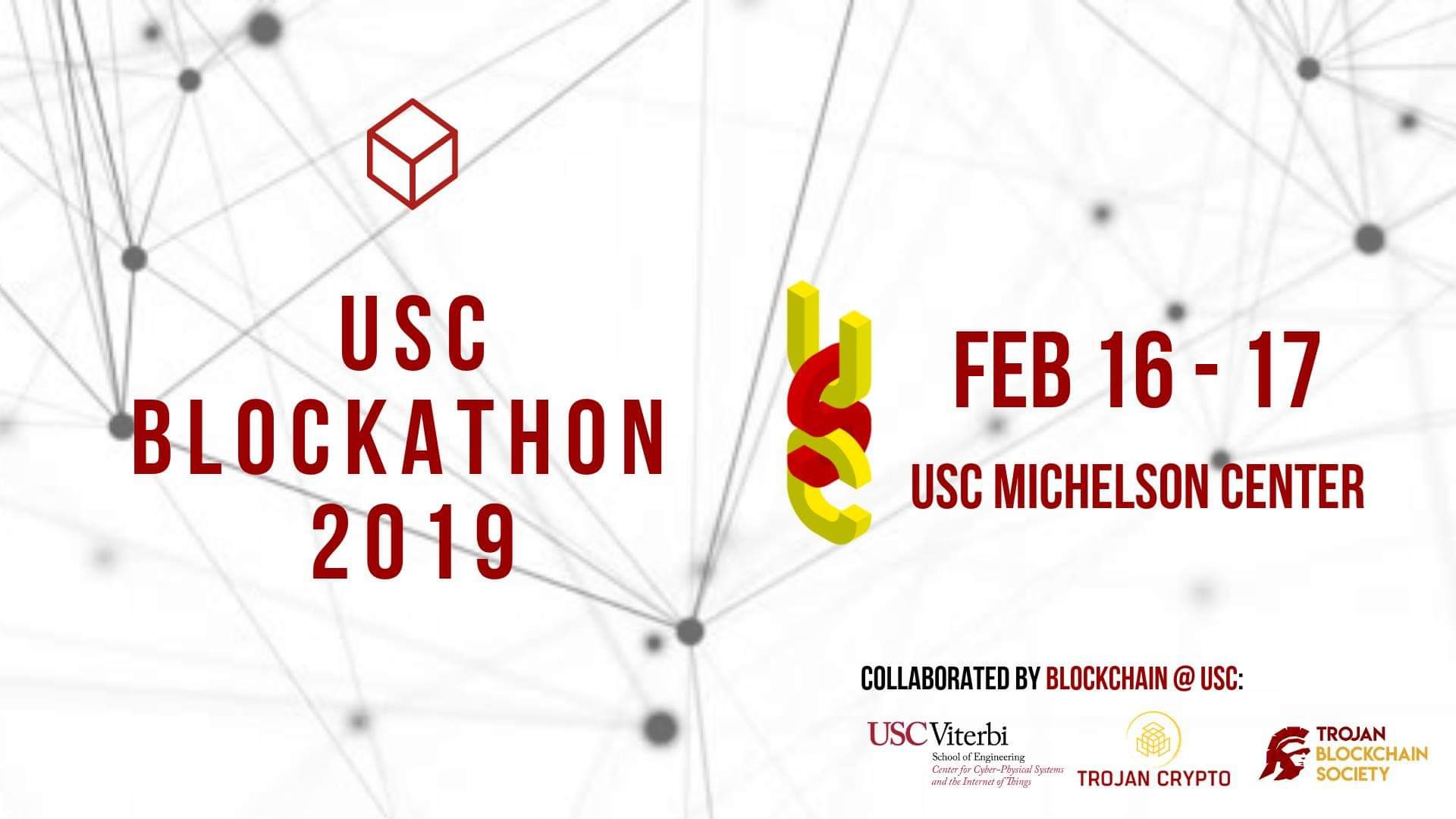 CCI Co-organizes the First Blockchain Hackathon at USC